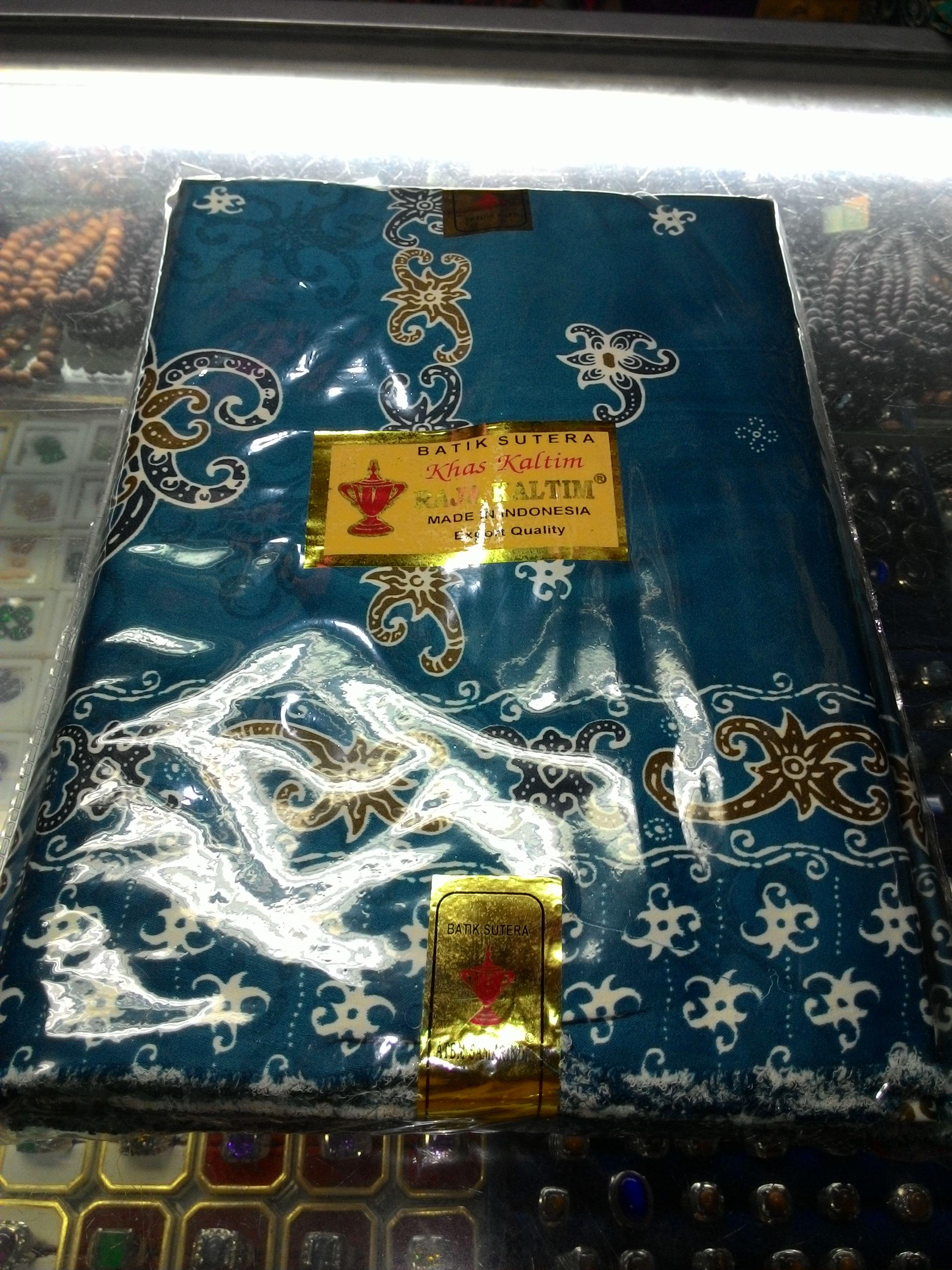 Jual Batik Kalimantan Semi Sutera  oleholehetam