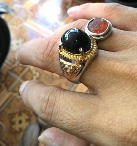 Batu Black Jade atau Giok Hitam Aceh