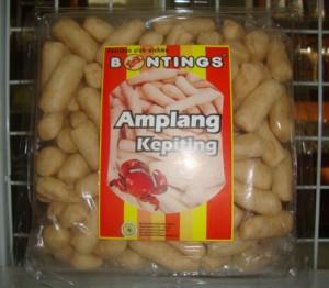 Amplang Kepiting