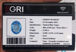 Batu Blue Topaz Super