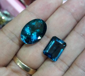 Batu Blue Topaz Super 8