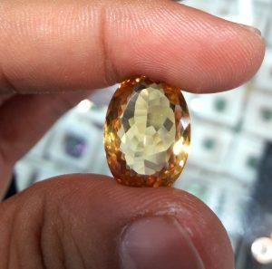 Batu Citrine Kuning Super (2)