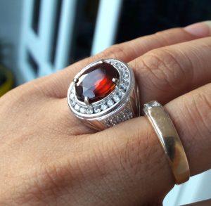 Batu Garnet Merah 2